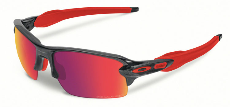 59403f27603 Oakley Flak 2.0 Black Ink w  OO Red Iridium Polarized – OO9295-08 S ...