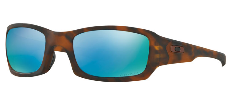 6eccb642a8 Oakley Fives Sq. Matte Tortoise w  Prizm Deep Water Polarized ...