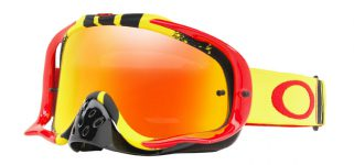 be3b8cd2d Oakley Crowbar MX Pinned Race Yellow-Red / Fire Iridium + Clear – OO7025-53